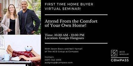 First Time Home Buyer Virtual Seminar | Compass Real Estate tickets