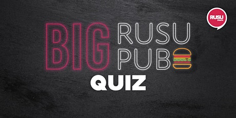 Big RUSU Pub - Quiz tickets