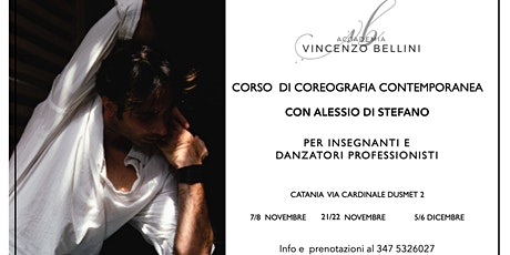 Corso di COREOGRAFIA CONTEMPORANEA tickets