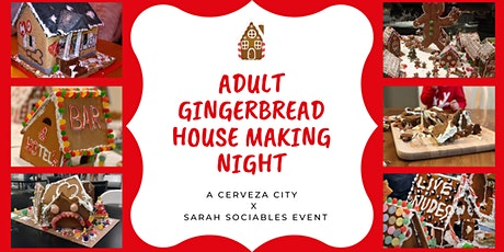 Adult Gingerbread House Making tickets