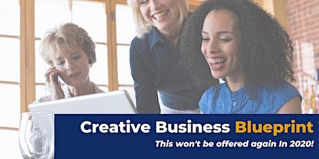 Creative Business Blueprint Webinar tickets