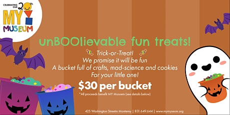 UnBOOlievably Fun Craft & Treat Buckets tickets