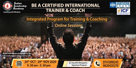 Be A Certified Trainer and Coach Online Program tickets