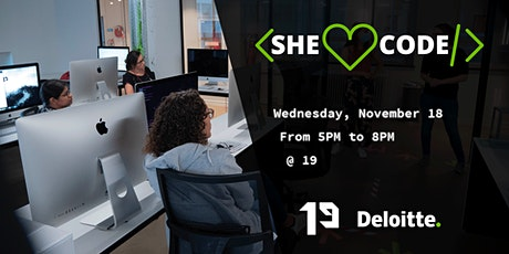 She Loves To Code #21 tickets