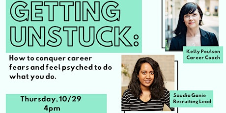 Getting Unstuck - How to Take Charge of Your Career tickets