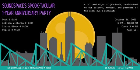 Soundspace's SPOOK-tacular 1-Year Anniversary Party tickets