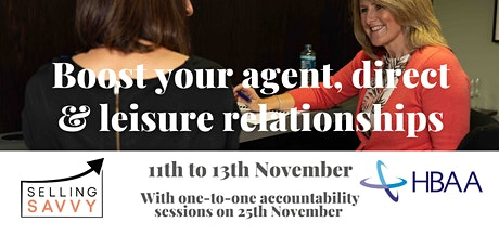 Hotels & Venues: Boost your agent, direct & leisure relationships tickets
