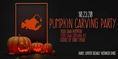 Pumpkin Carving at Platform tickets