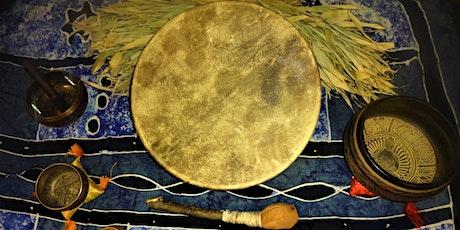 LIVE ONLINE Soundbath - Shamanic Drum Healing Journey tickets