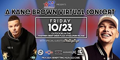 A Kane Brown Virtual Concert tickets