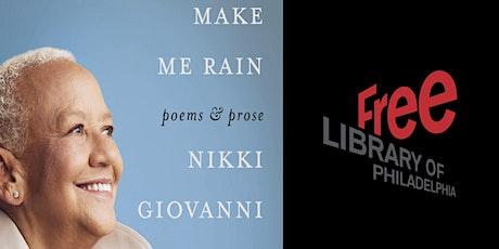 Nikki Giovanni | Make Me Rain tickets