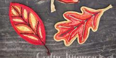 Virtual Creative Family Workshop: Yarn Painted Leaves tickets