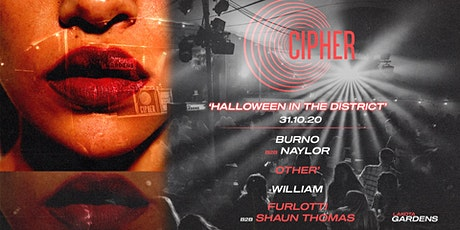 Cipher: Halloween in the District tickets
