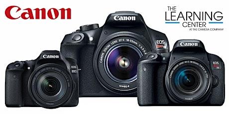 Canon Camera Basics - Online Session - December 8 tickets
