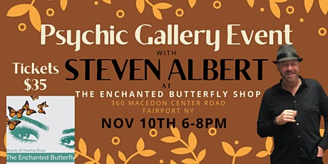 Steven Albert: Psychic Medium Gallery Event at Enchanted Butterfly 11/10 tickets