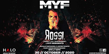 MYF - Rossi Halloween Special! tickets