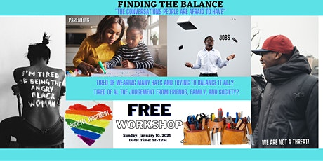 """Finding the Balance """"The conversations people are afraid to have"""" tickets"""
