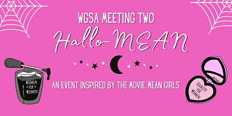 WGSA Meeting Two - HallowMean Tickets