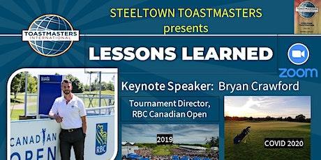 Steeltown Toastmasters - Open House tickets
