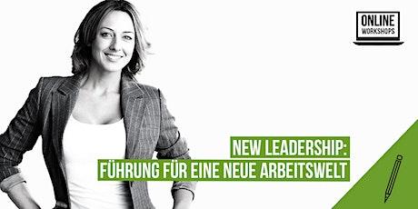 New Leadership: Führung für eine Neue Arbeitswelt Tickets