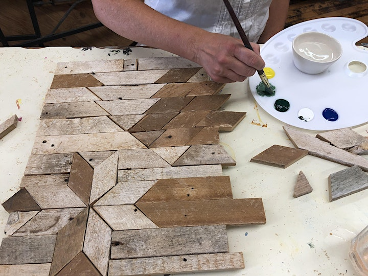 BARN QUILTING - STAR with Alan McIntosh image