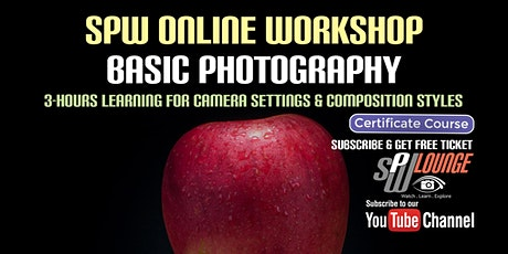 Basic Photography Online Workshop tickets