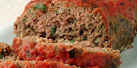 Tuscan  Meatloaf , Parmesan Potatoes & Brussel Sprouts with Pancetta tickets