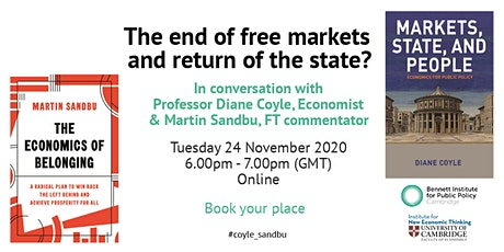 The end of free markets and return of the state? tickets