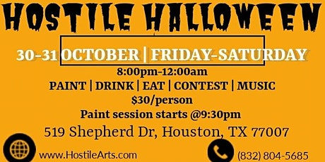 Hostile Halloween tickets