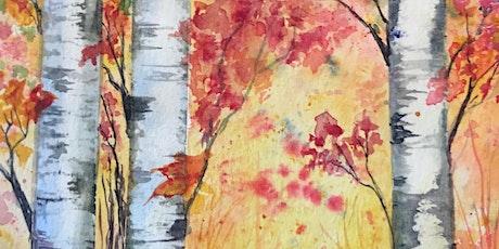 10am-12:00 Birch Trees - Splatter & Scrape - Jean Anderson tickets