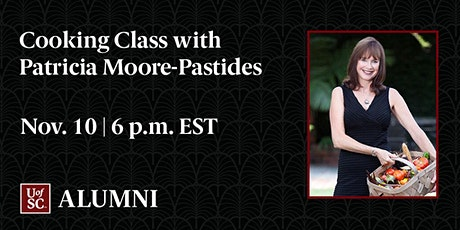 Cooking Class with Patricia Moore-Pastides tickets