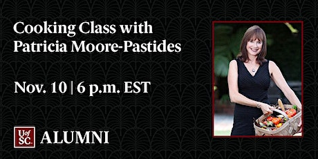 Cooking Class with Patricia Moore-Pastides