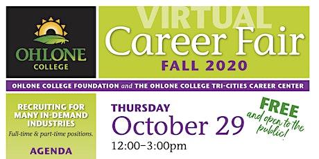 Fall 2020 Virtual Career Fair tickets