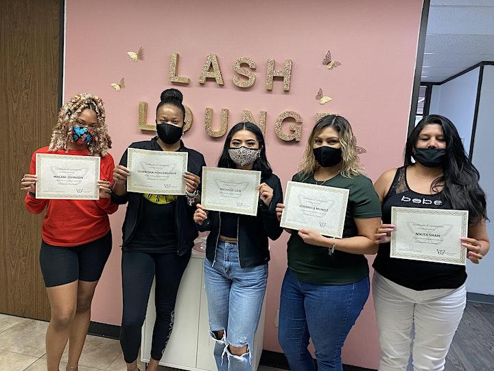 Houston Eyelash Extension Training image