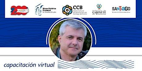 """Capacitación virtual """"El patrimonio cultural como recurso"""" (Facebook live) entradas"""