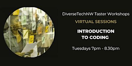 DiverseTechNW -- Coding Taster Series tickets