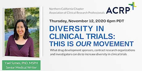 Diversity in Clinical Trials: This is Our Movement tickets