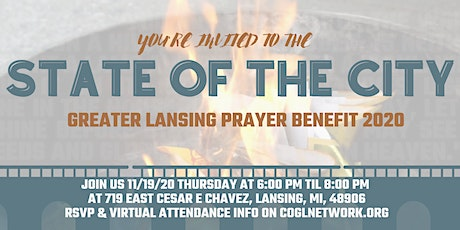 State of the City | Prayer Benefit 2020 tickets
