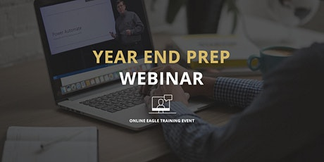 Year End Prep Webinar - Online EBMS Training Event tickets