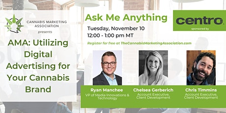 AMA: Utilizing Digital Advertising for Your Cannabis Brand tickets