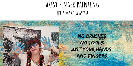 Finger Painting for Adults with Pamela Sue Johnson tickets