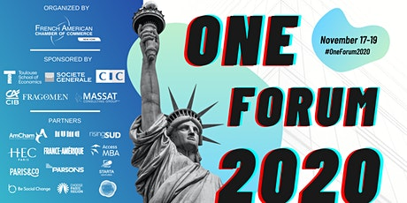 The One Forum 2020 hosted by the French-American Chamber of Commerce NY tickets