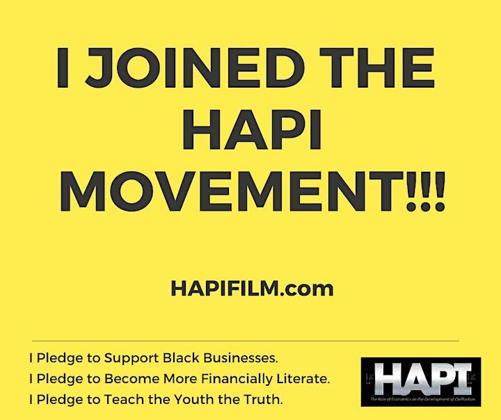 HAPI Screening & Panel Discussion Nov.  21@ 7PM EST. image