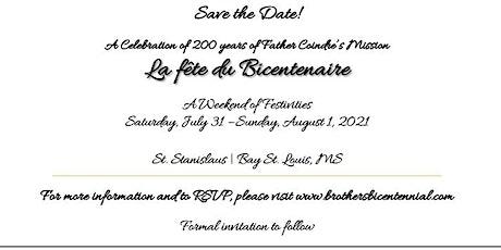 La fête du Bicentenaire tickets