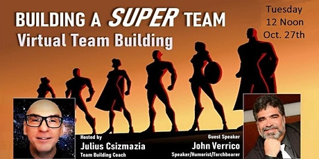 BUILDING A SUPER TEAM - Virtual Team Building Session tickets