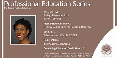 OH Professional Education Series: Healthy Coping Skills for Recovery tickets