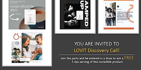 Open LOVIT Discovery Call Tickets