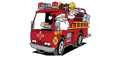 Ridgefield Professional Firefighters Santa Event (Dec. 5  and 12, 2020) tickets