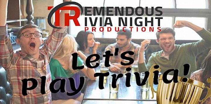 Tuesday Night Trivia at Slackwater Brewing, Penticton! image
