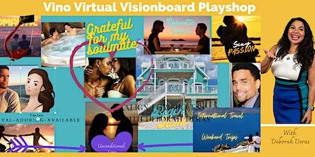 Virtual Vino & Visionboard Playshop tickets